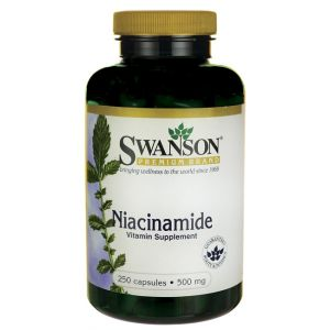 VITAMINA B3 (NIACINAMIDA) 500 mg, 250 capsule, Swanson