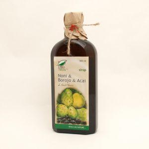 NONI & BOROJO & ACAI SIROP, 250/500 ml, Laboratoarele Medica