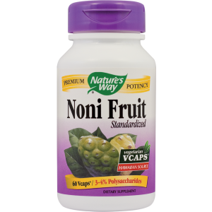 NONI FRUIT SE 500 mg, 60 capsule, Nature's Way