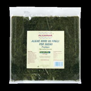 ALGE NORI PENTRU SUSHI RAW, 300 g, Algamar