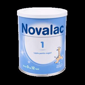NOVALAC 1 (0-12 luni) 400 g, Sun Wave Pharma