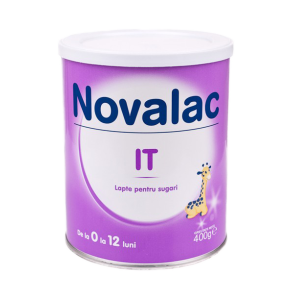 NOVALAC IT (0-12 luni) 400 g, Sun Wave Pharma
