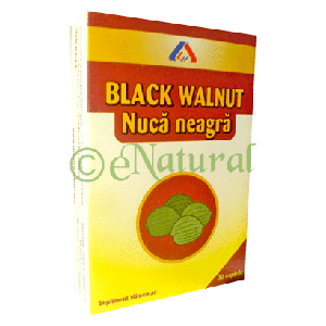 NUCA NEAGRA, 30 capsule a 500 mg, American Lifestyle