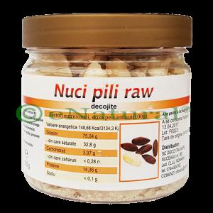 NUCI PILI RAW 125 g, Managis Bio
