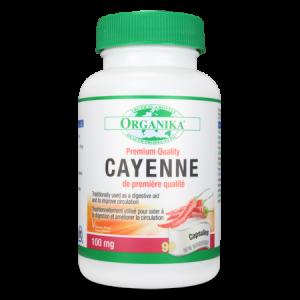 CAYENNE 100 mg, 90 capsule, Organika