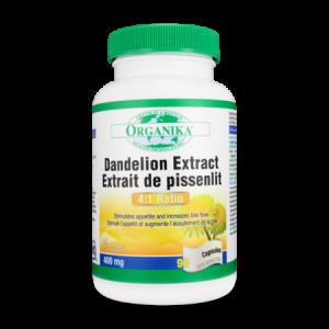 DANDELION (PAPADIE) ROOT 1600 mg, 90 capsule, Organika