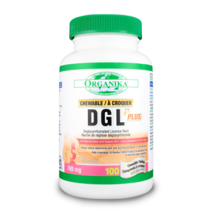 DGL 500 PLUS - G.E.R.D. SUPPORT 760 mg, 100 tablete masticabile, Organika