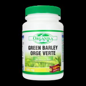 GREEN BARLEY EXTRACT (ORZ VERDE) 1000 mg, 100 capsule, Organika