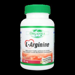 L-ARGININA 500 mg, 90 capsule, Organika