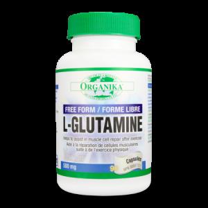 L-GLUTAMINA 500 mg, 90 capsule, Organika