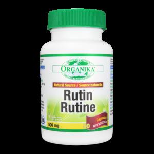 RUTIN 500 mg, 50 capsule, Organika