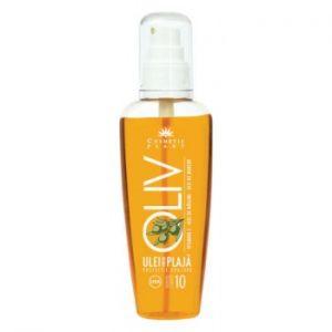 ULEI PENTRU PLAJA SPRAY CU FACTOR DE PROTECTIE 10, 125 ml, Cosmetic Plant
