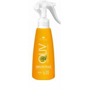 EMULSIE SPRAY PENTRU PLAJA  CU FACTOR DE PROTECTIE 20, 200 ml, Cosmetic plant