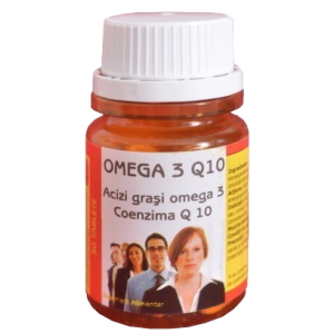 OMEGA 3 Q10, 30 comprimate, Ac Helcor