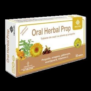 ORAL HERBAL PROP 30 comprimate de supt, Ac Helcor