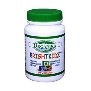 BRIGHTKIDZ 130 mg, 90 capsule, Organika