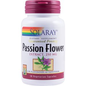 PASSION FLOWER (Floarea-pasiunii) 250 mg, 30 capsule vegetale, Solatay