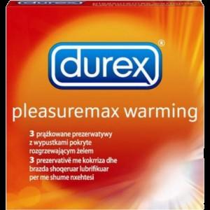 PREZERVATIVE PLEASUREMAX WARMING 3 buc, Durex