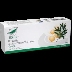 PROPOLIS & AUSTRALIAN TEA TREE CREMA, 40 g, Laboratoarele Medica