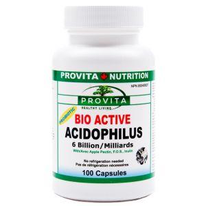 ACIDOPHILUS BIO ACTIVE 100 capsule, Provita Nutrition