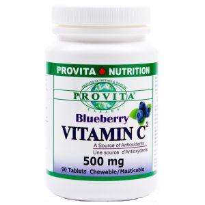 VITAMINA C CU AFINE 90 de tablete masticabile, Provita Nutrition