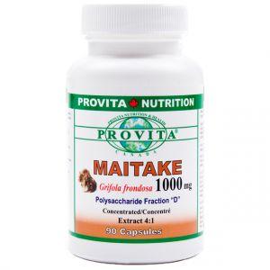 MAITAKE 1000 mg, 90 capsule, Provita Nutrition