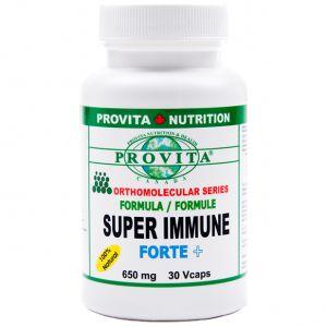 SUPER IMMUNE FORTE+, 30 capsule, Provita Nutrition