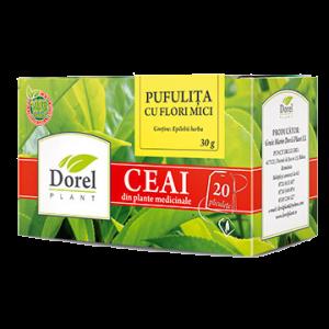 PUFULITA CU FLORI MICI, Ceai 20 plicuri, Dorel Plant