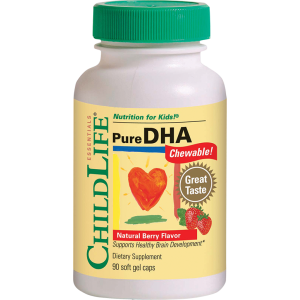 PURE DHA 90 capsule moi masticabile, Child Life Essentials