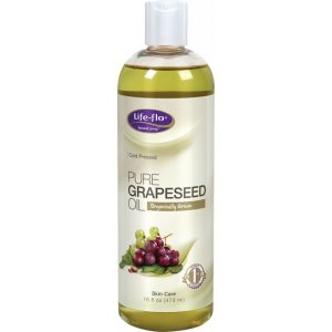 GRAPESEED PURE OIL 473 ml, Life- flo