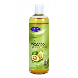 AVOCADO PURE OIL 473 ml, Life-flo