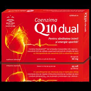 COENZIMA Q10 DUAL 60 mg, 30 capsule, Barny's
