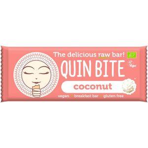 BATON CU COCOS RAW BIO 30 g, Quin Bite