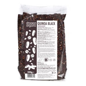 QUINOA NEAGRA BIO 250 g, Dragon Superfoods