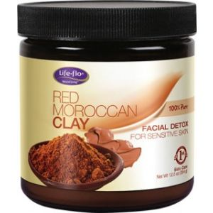 RED MOROCCAN CLAY (SENSITIVE SKIN) 354 g, Life-flo