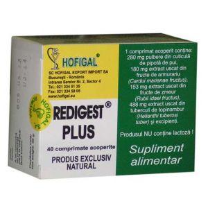 REDIGEST PLUS 40 comprimate, Hofigal