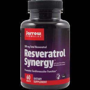 RESVERATROL SYNERGY 200, 60 tablete, Jarrow Formulas