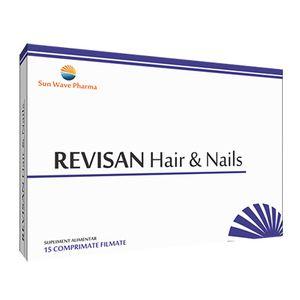 REVISAN HAIR & NAILS 15 comprimate, Sun Wave Pharma