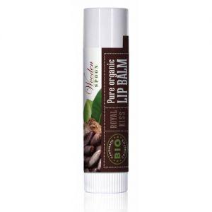 BALSAM DE BUZE ROYAL KISS BIO, 4.3 ml, Wooden Spoon