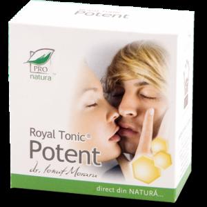 ROYAL TONIC POTENT, 40 capsule, Laboratoarele Medica