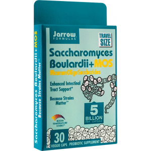 SACCHAROMYCES BOULARDII + MOS 30 capsule, Jarrow Formulas