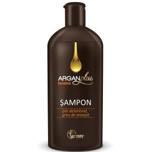 SAMPON CU KERATINA ARGAN PLUS 250 ml, Farmec