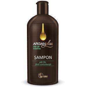 SAMPON CU ULEI DE MASLINE ARGAN PLUS 250 ml, Farmec