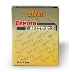CREION HEMOSTATIC 12 buc, Sana Est