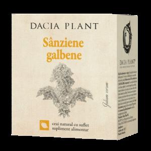 SANZIENE GALBENE, Ceai 50 g, Dacia Plant