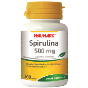 SPIRULINA 500 mg, 30/200 tablete, Walmark
