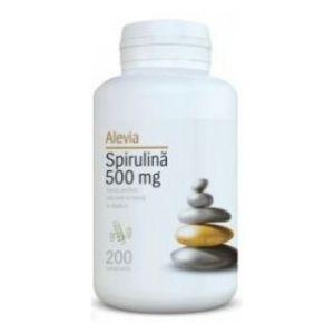 SPIRULINA 500 mg, 200 comprimate, Alevia