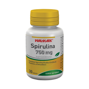 SPIRULINA 750 mg, 30 tablete, Walmark