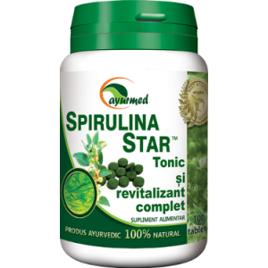 SPIRULINA STAR 50/100 tablete, Ayurmed