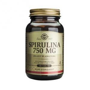 SPIRULINA 750 mg, Solgar